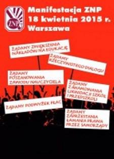 Manifestacja 18.04.2015r. Warszawa